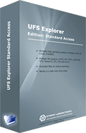 UFS Explorer Standard Access box logo