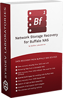 Network Storage Recovery for Buffalo NAS box logo