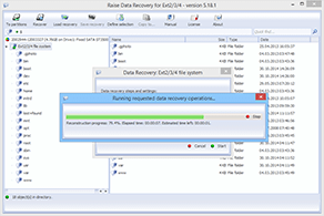 Raise Data Recovery for Ext2/Ext3/Ext4
