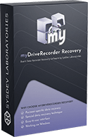 myDriveRecorder Recovery - One Time License box logo