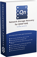 Network Storage Recovery for QNAP NAS box logo