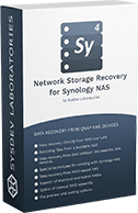 Network Storage Recovery for Synology NAS box logo
