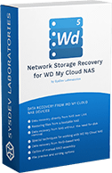 Network Storage Recovery for WD MyCloud NAS box logo