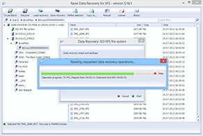 Raise Data Recovery for XFS